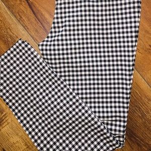 Who What Wear Gingham Skinny Ankle Pant 🌷